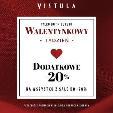 Walentynkowy tydzień w salonie Vistula