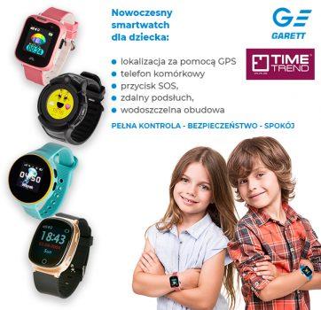 Smartwache dla dzieci w Time Trend