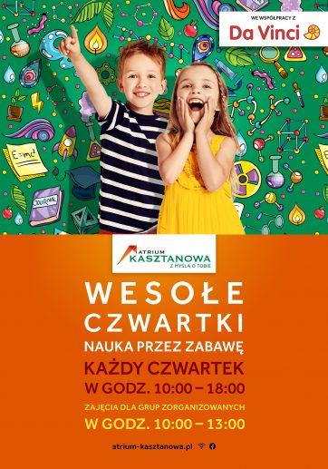 Wesołe Czwartki, czyli Akademia Kasztanowej dla dzieci!