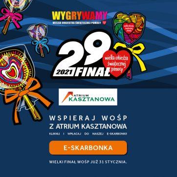 Atrium Kasztanowa gra z WOŚP!