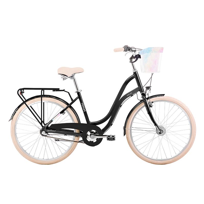 rower miejski z 3-biegową piastą