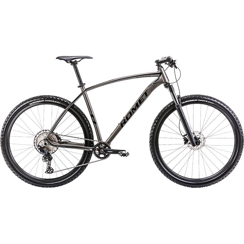 rower górski grafitowo-czarny