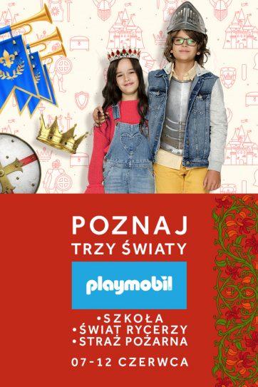 Wystawa Playmobil w Atrium Kasztanowa